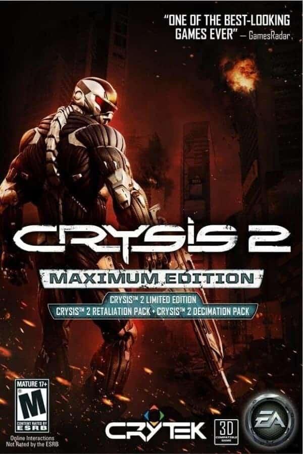 crysis 2 maximum edition oynasana
