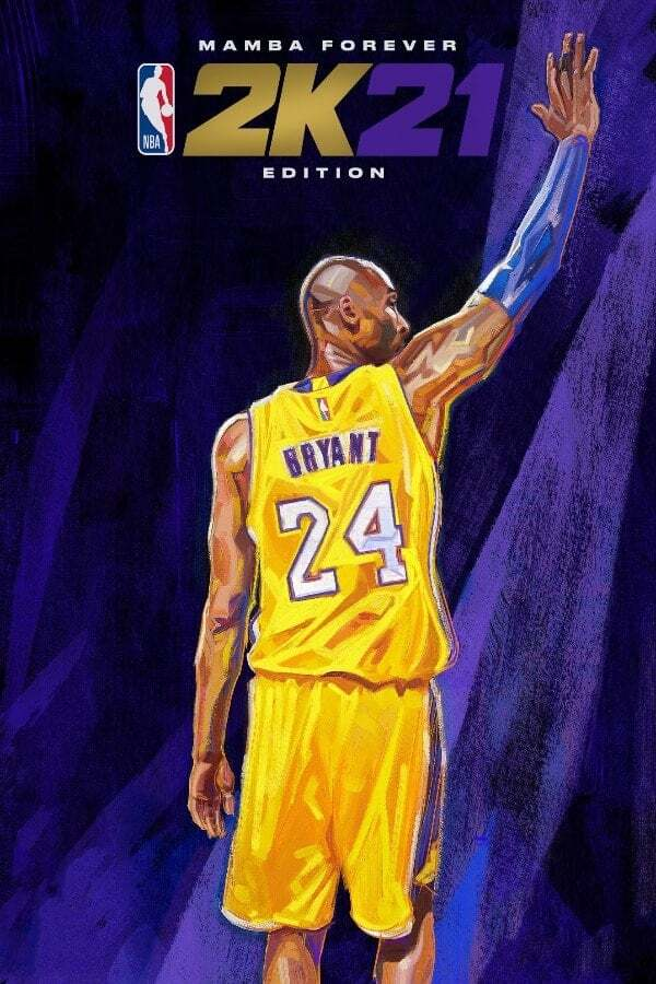 nba 2k21 mamba forever edition cover