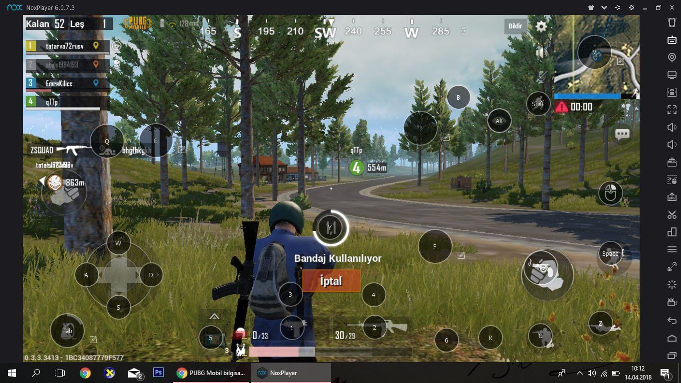 PUBG Mobile bilgisayardan oynamak