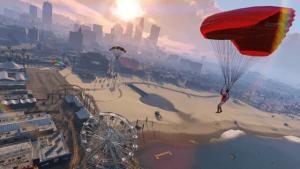 GTA 5 te Paraşüt Nasıl Açılır?