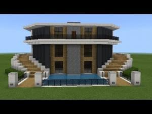 Minecraft Lüks Ev Yapımı
